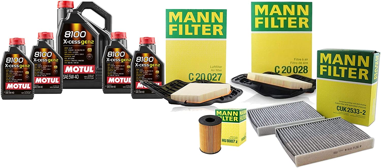 9L Finally popular brand 8100 XCESSGEN2 5W40 Oil Filter 750i xDriv Service For F01 Kit Year-end gift