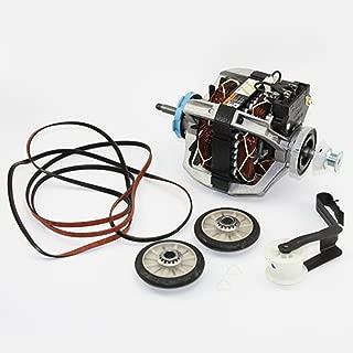 Dryer Motor 279827 and Maintenance Kit 4392065 Kit for Whirlpool Kenmore Estate Roper