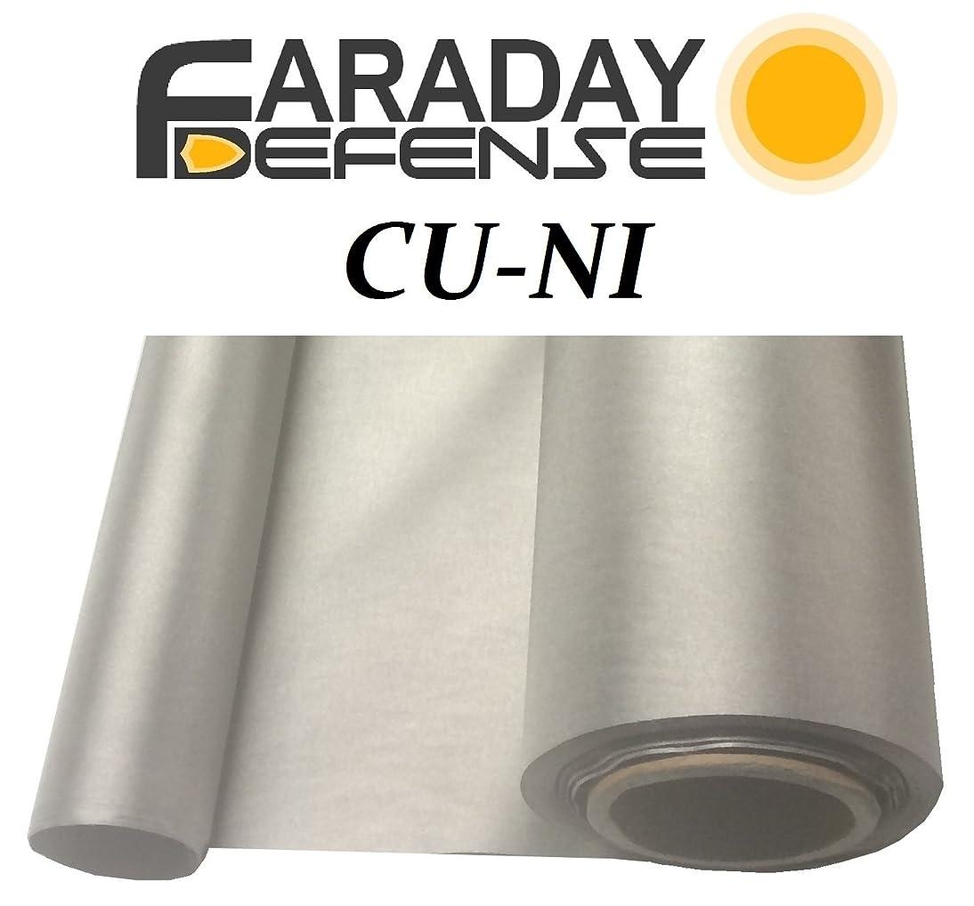 Faraday Defense RF RFID EMF Shielding Nickel Copper Fabric 50