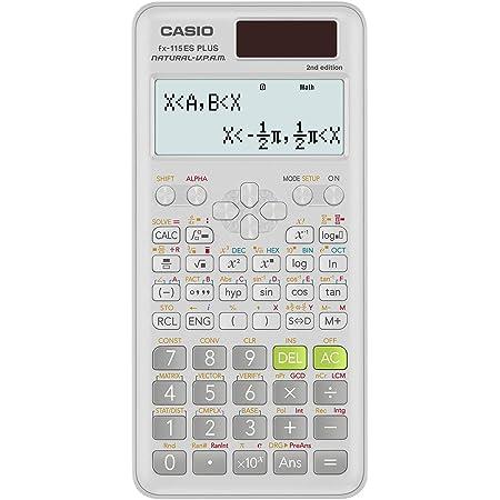 Casio fx-115ESPLUS2 2nd Edition, Advanced Scientific Calculator