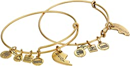 Best Friends Set of 2 Charm Bangle