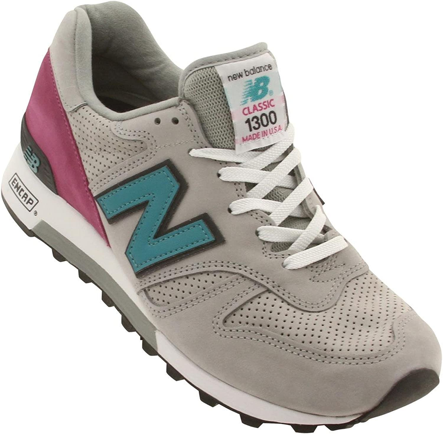 New New New Balance M1300DGR Made in USA (Light Grey / Turquoise / Pink) B00OL3PBD8  f7b8a4