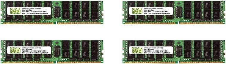 NEMIX RAM 512GB 4x128GB DDR4-2933 PC4-23400 4Rx4 ECC Load Reduced Server Memory