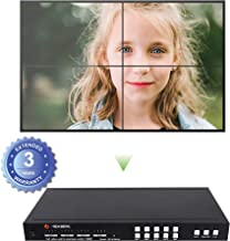 J-Tech Digital 2X2 HDMI Video Wall Controller Seamless 4x4 1080p HDCP1.4 HDMI Matrix Switch with IR Remote, RS232 PC Web Interface Remote Control, Control4 JTD-P8 Drivers [JTECH-SMX44]