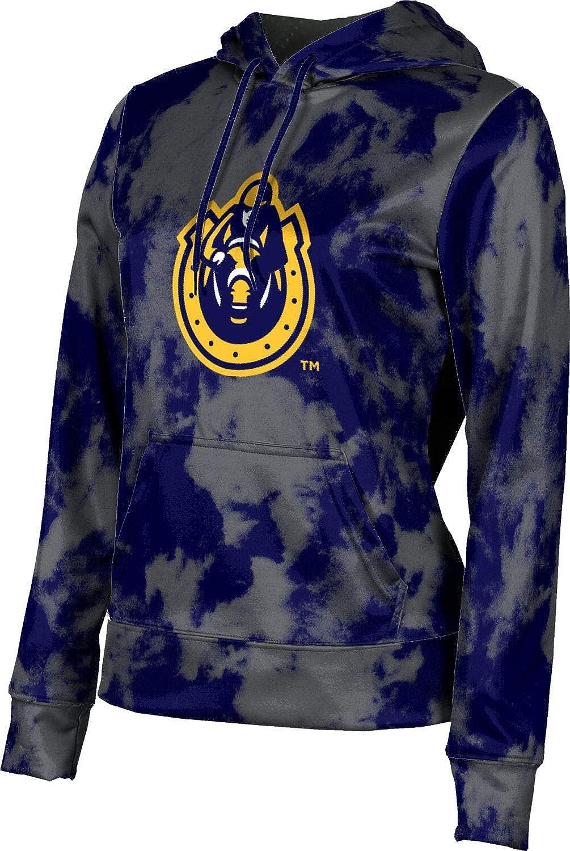 Murray State University Girls' Pullover Hoodie, School Spirit Sweatshirt (Grunge)