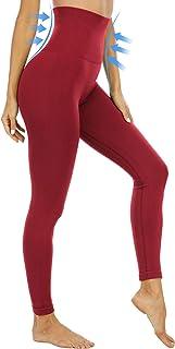 CHRLEISURE High Waisted Tummy Control Seamless Leggings for Women, Compression Workout Yoga Postpartum Leggings