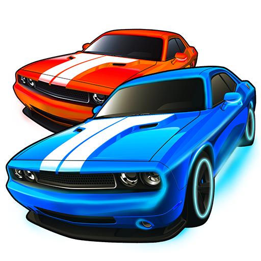 Kids Car games free racing app: Driving down the highway simul
