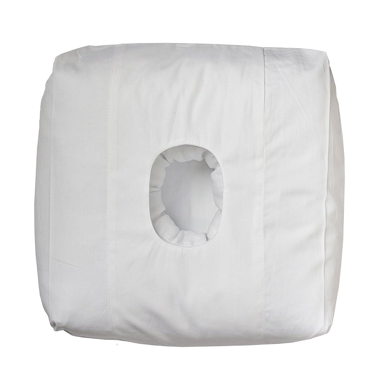 自発合意注意穴付きオリジナル旅行枕。