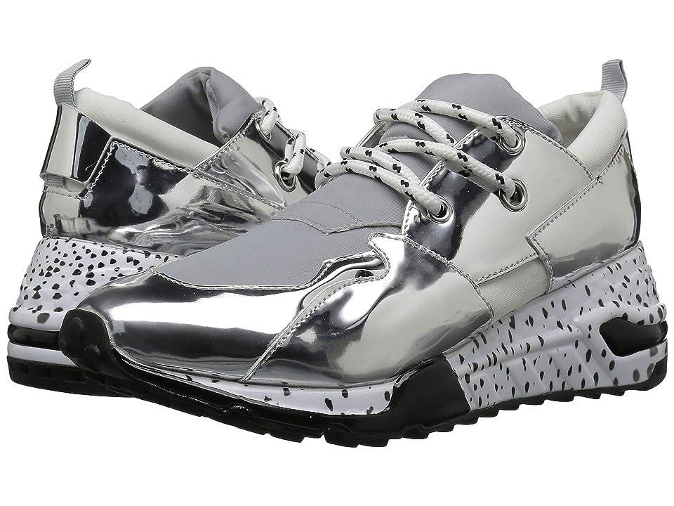 Steve Madden Cliff Sneaker (Silver) Women