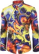 Leomodo Symmetry Printed Long Sleeves Men Shirt