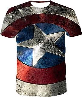 JWJW Superman - Camiseta de manga corta para hombre con diseño de Batman