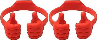 Honsky Thumbs-up Cell Phone Stands, Tablet Display Stands, Cellphone Holder, Mobile Smartphone Mount Cradle for Desk Deskt...