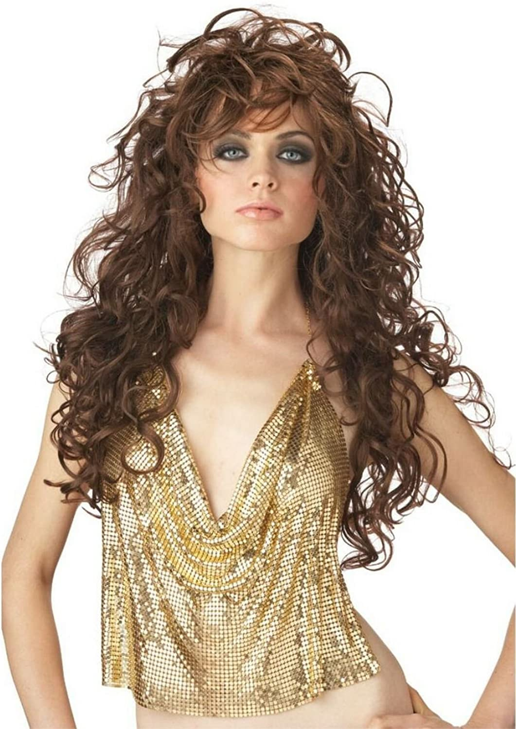California outlet Max 69% OFF Costume Collection - Seduction Wig Brown