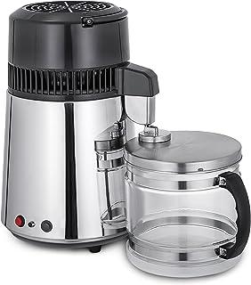 comprar comparacion Moracle Destilador de Agua de Acero Inoxidable 750W Destilación de Agua Destilador de Agua de 1,1 Galones / 4 L para el Ho...
