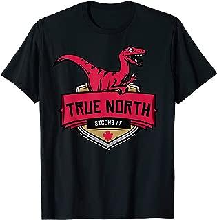 TRUE NORTH STRONG AND FREE (Emblem Shirt)