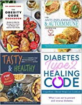 The Obesity Code Cookbook, The Anti-Inflammatory & Autoimmune Cookbook, Tasty & Healthy F*ck That's Delicious, Diabetes Ty...