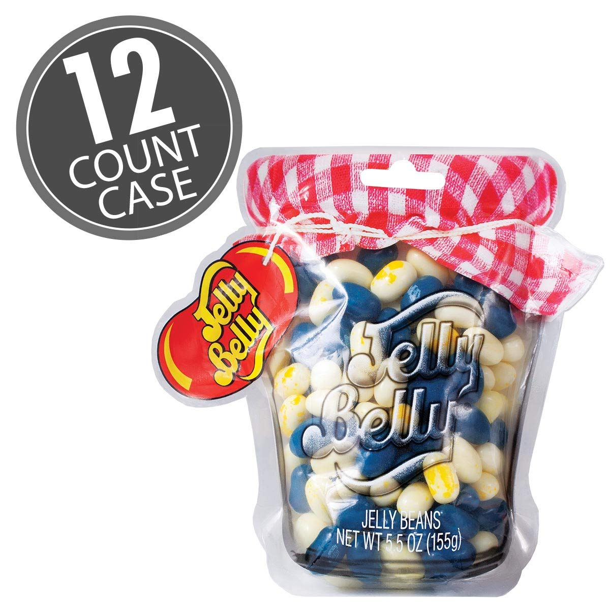 Jelly Belly Blueberry Muffin Award-winning store Mix Mason oz Bag Count 5.5 Jar 12 Inventory cleanup selling sale