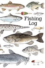 Fishing Log: A Kids Fishing Log Paperback