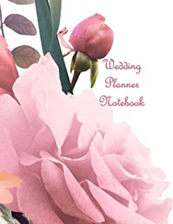 Wedding Planner Notebook: Gender Neutral Ultimate Planning Helper - Parchment Effect Cover - Budget, Catering, Contact Sheets - Checklists - Aide Memoir Countdown Prompts