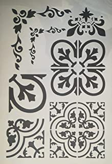 Stencils, wall decorations, print and drawing A4 , 2725240379195