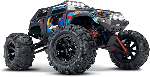 Traxxas SUMMIT RTR Brushed 2.4GHz mit Licht Rockn Roll 1 16 TRX72054-1