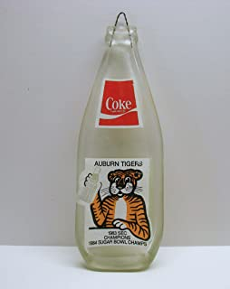 Upcycled Auburn Tigers Football 1983 SEC Champions Coca-Cola Bottle Coke Spoon Rest