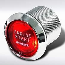 Autozensation Red Led Engine Ignition Starter Push Start Button Switch 12V