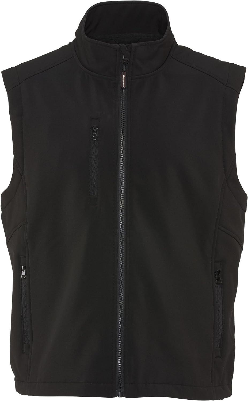 RefrigiWear Warm Insulated Softshell Vest with Micro-Fleece Lining