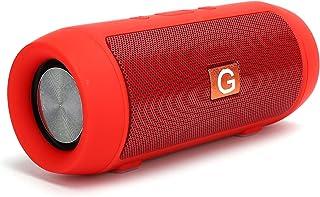 $20 » Vbestlife Wireless Subwoofer Portable Speaker,Bluetooth 4.2 Support U Disk Playback FM Radio Speaker,for Outdoor Home(red)