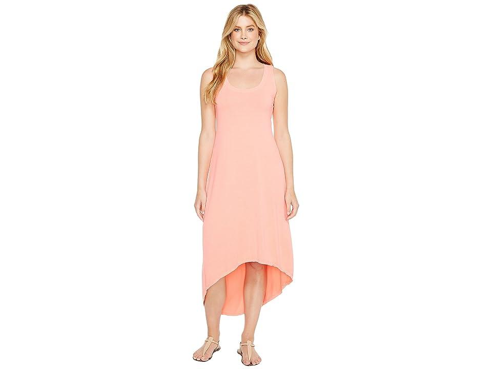 Fresh Produce Hilo Staple Maxi Dress (Sunset Coral) Women