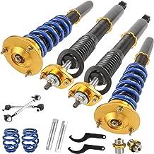 ECCPP Complete Struts Spring Assembly Front Struts Shock Absorber Fit for 2001-2005 BMW 320i//330i//325i2000 BMW 323Ci//328Ci 1999-2000 BMW 323i//328i 2001-2006 BMW 325Ci //330Ci Set of 2