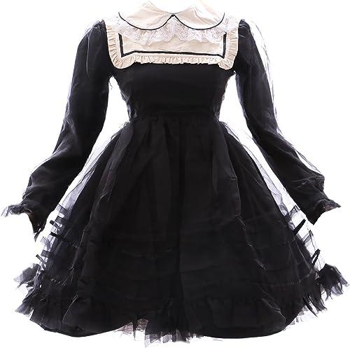 en venta en línea Kawaii-Story JL JL JL de 565 3negro negro Gothic Lolita Japón Vestido Disfraz Dress Cosplay Baby Doll  precio razonable