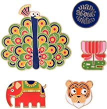 Chumbak Mad About India Metal Magnet- Set of 5