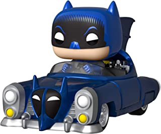 Funko Pop! Rides: Batman 80th - Azul Metálico 1950 Batmobile, Amazon Exclusive, Multicolor