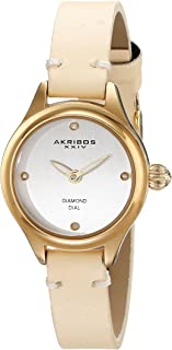 Akribos XXIV Women's Empire Analogue Display Japanese Quartz Watch