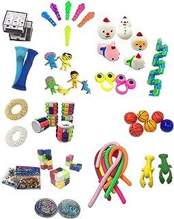 YOUPIN Fidget toys 50PCS Stress Relief Toys Sensory Fidget Toy Set For Kids Adults Sensory Fidget Toy Set Stress Relief To...