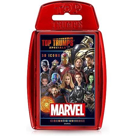 Marvel Cinematic Universe Top Trumps Specials Card Game, WM01242-EN1-6