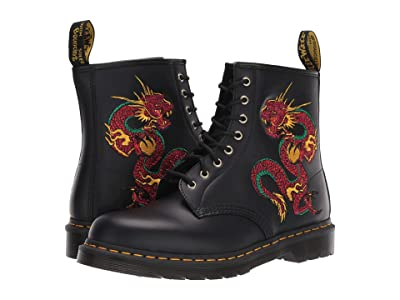 Dr. Martens 1460 Embroidery (Black) Shoes