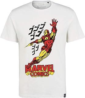 Recovered Marvel Comics Iron Man Japan EcruT-Shirt