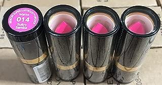 Revlon Superlustrous Matte Lipstick- 014 Sultry Samba, (Pack of 4)