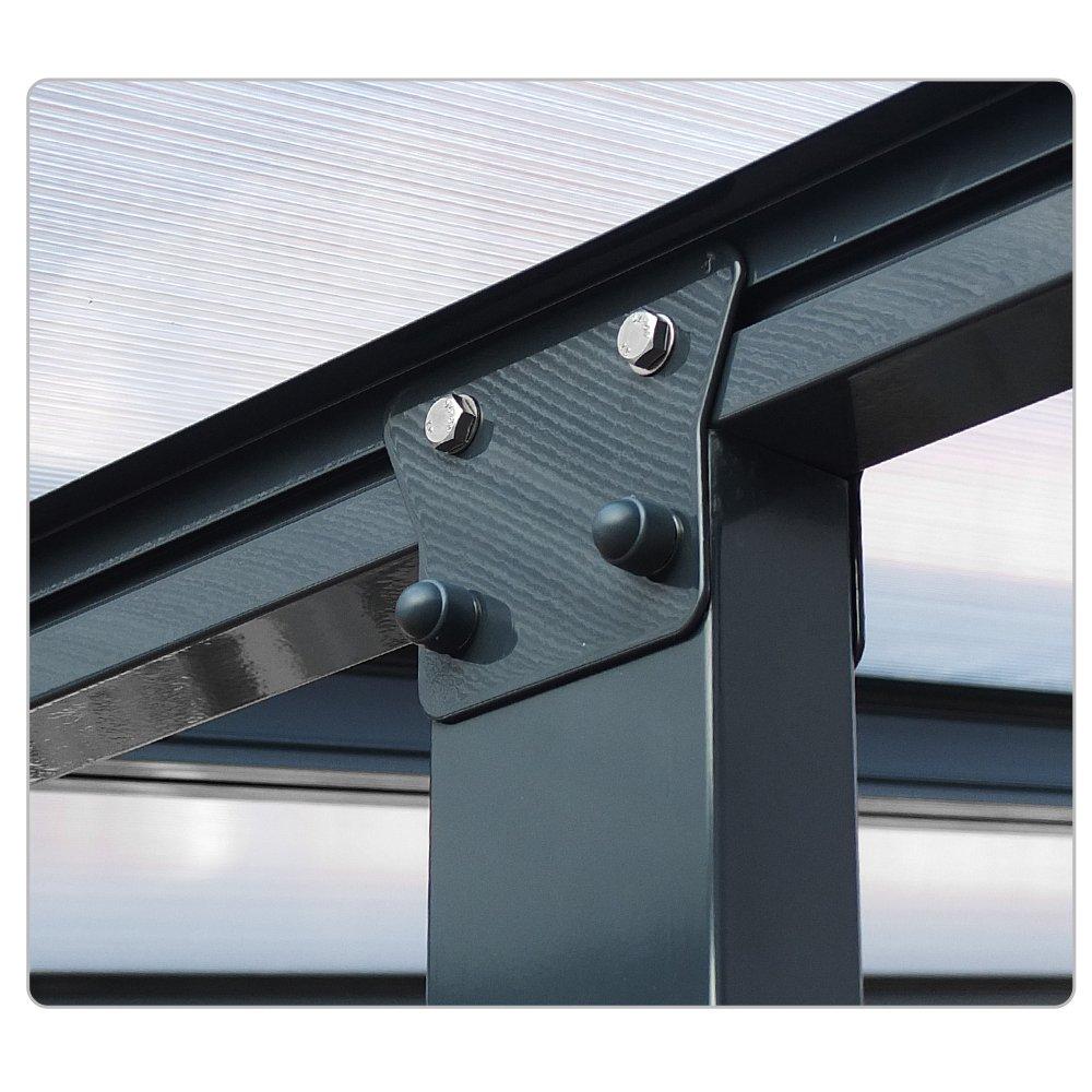 OSKAR Terraza Techo Aluminio Pergola prikker-überdachungen ...