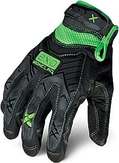 Ironclad EXO-MIG-05-XL Motor Impact Gloves, X-Large, Black