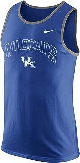 Kentucky Wildcats Mens College Cotton Arch Tank Top Sleeveless Shirt