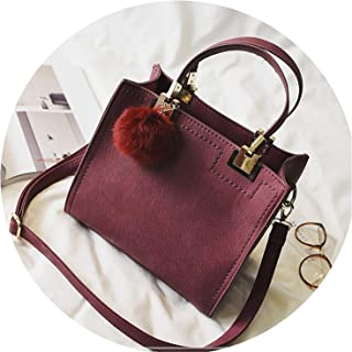 Handbag women casual tote bag female large shoulder Suede Leather