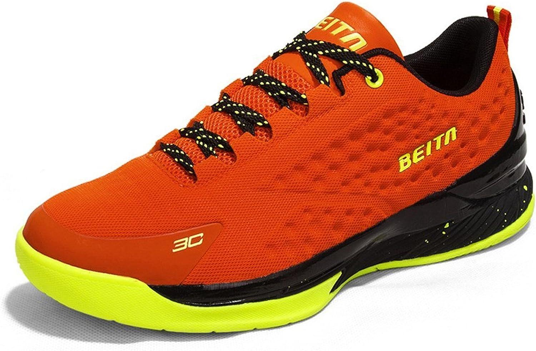 Spearss LightweightMens Sport Leather Teens Boys Basketball Running shoes Convenient
