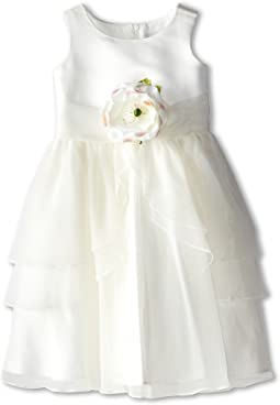 Us Angels - Tank Top Dress w/ Layers of Organza Skirt (Toddler)