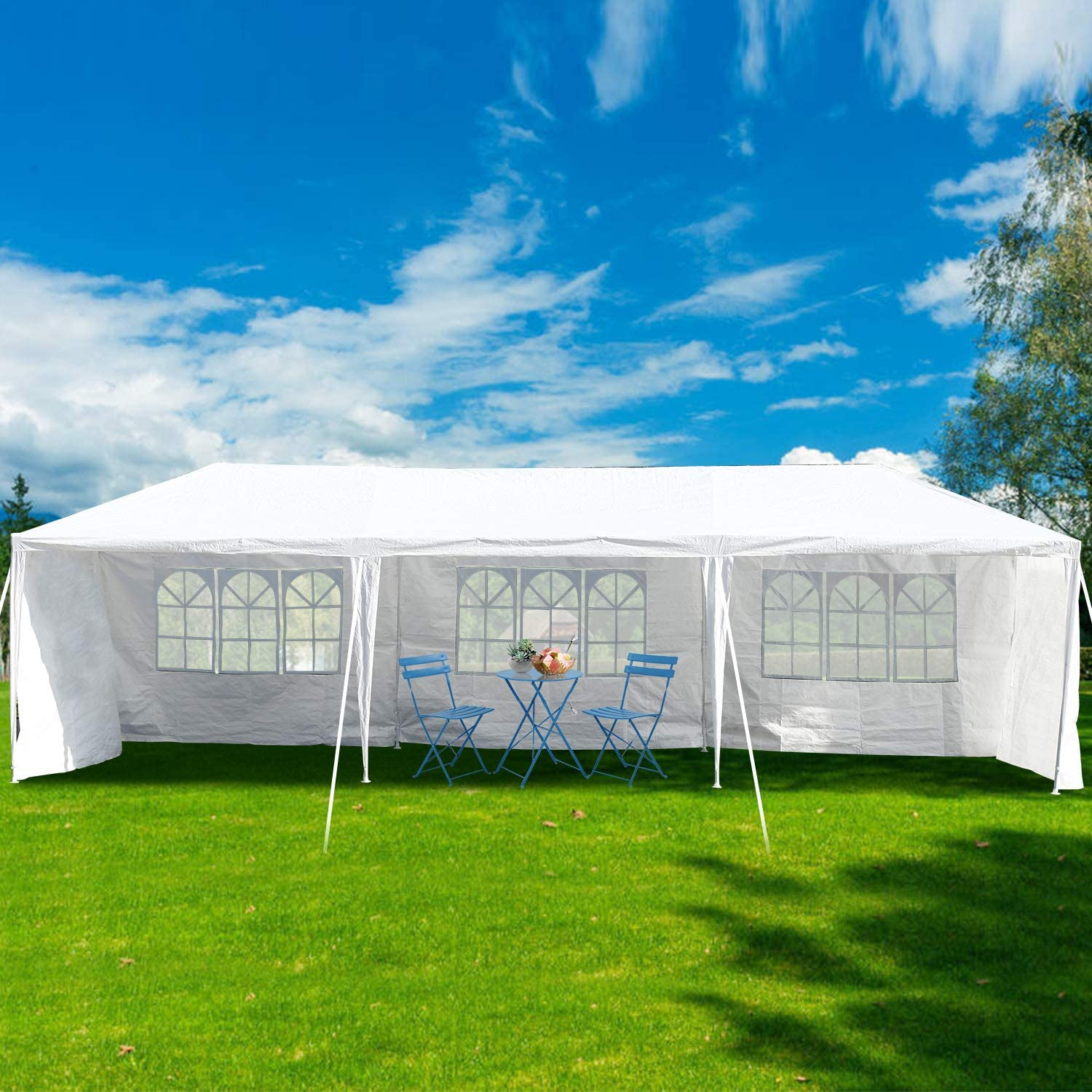 10'x30' Outdoor Party お買い得品 Wedding Tent WEB限定 Canop Heavy Duty Camping