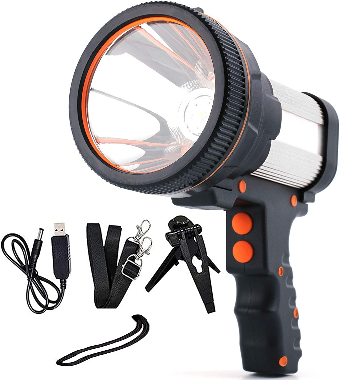 Enudood spotlight Super Bright 6000 LED Lumens Searchlight Sale Handh Overseas parallel import regular item
