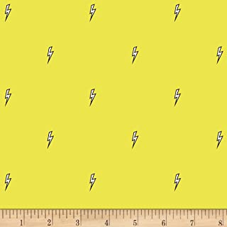 Michael Miller 0565624 Believe Bolt Citron Fabric by The Yard