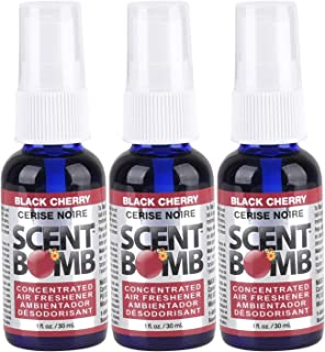 Scent Bomb Super Strong 100% Concentrated Air Freshener - 3 PACK (Black Cherry)